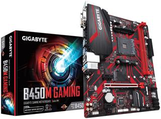 PLACA BASE GIGABYTE B450M GAMING AM4 DDR4