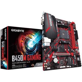 PLACA BASE GIGABYTE B450M GAMING AM4 MATX 2XDDR4