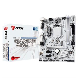 PLACA BASE MSI 1151-8G H310M GAMING ARCTIC Gen8/9