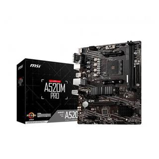 PLACA BASE MSI A520M PRO AM4 DDR4