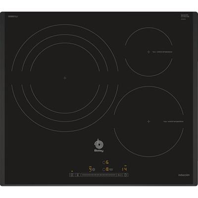 Placa de inducción Balay 3EB967LU 3 zonas negra ...