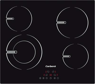 Placa vitrocerámica Corberó CCVBR6450 6400W 59cm ...