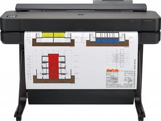 Plotter HP DesignJet T650 36-in tinta color WiFi