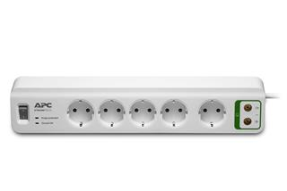APC Surge 5 outlets+Coax Protection 230V
