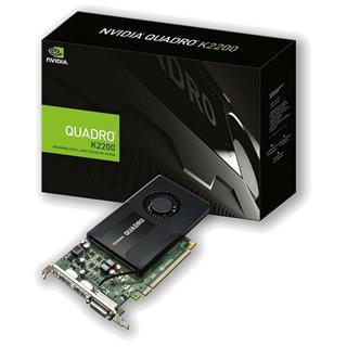 Tarjeta Gráfica PNY QUADRO K2200  PCI-EXPRESS X16 GEN 4 GB GDDR5