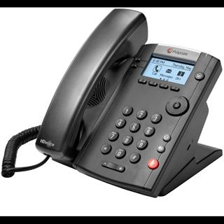 POLY VVX 201 SKYPE F/BUSINESS        2-LINE DESKTOP PHONE