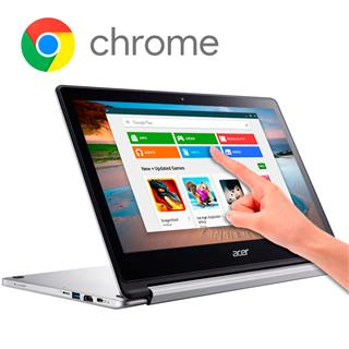"Portátil Acer R13-CB5-312T Mediatek MT8173 4GB 64GB 13.3"" Chrome"