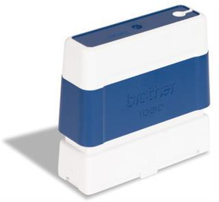 Brother CS/Pack 6 blue stamps 10x60mm