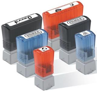 Brother CS/Pack 6 blue stamps 12x12 mm