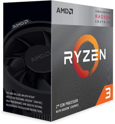 AMD RYZEN 3 3200G 3.6GHZ 4 CORE 6MB SOCKET AM4 ...