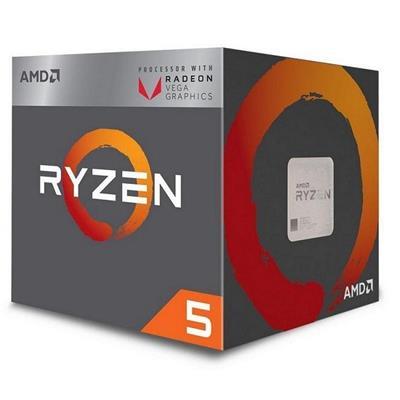 AMD RYZEN 5 3400G 4CORE 4.2GHZ 6MB SOCKET AM4