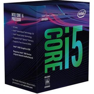 Procesador intel Core i5-8600K 3.60GHz LGA1151 Box Gen8/9