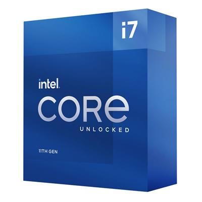 Procesador Intel Core i7-11700F 2.5GHz 1200 GEN11