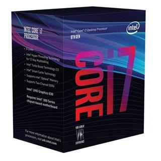 Procesador Intel Core i7-8700K 3.7Ghz BOX Gen8/9