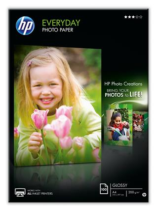 HP Everyday Photo A4 semi-glossy one-sided