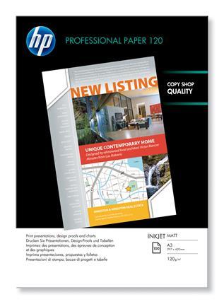 HP PROFESSIONAL INKJET PAPER       OPAQUE 120