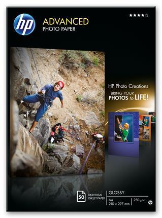 HP Paper Photo/Adv Glossy A4 50sh