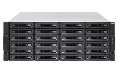 QNAP TS-2483XU-RP-E2136-16G 4U 24BA 3.3GHZ QC ...