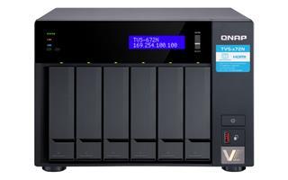 QNAP TVS-672N-I3-4G 6BAY 3.1GHZ 4C  4 GB DDR4 2X ...