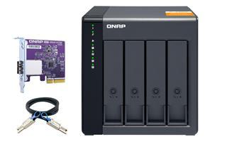 NAS sin disco duro Qnap TL-D400S 4bahías