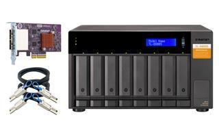 NAS sin disco duro Qnap TL-D800S
