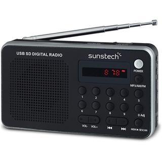Radio portátil Sunstech RPDS32SL digital plata