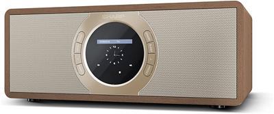Radio Sharp DR-I470(BR) 30W Aux Spotify Online