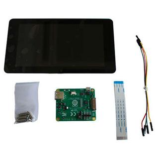 """Raspberry Pi 7"""" Touch Screen LCD"""