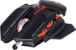 Ratón con cable Scorpion G980 6000DPI gaming negro