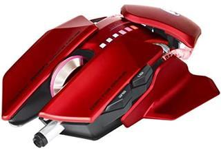 Ratón con cable Scorpion G980 6000DPI rojo gaming