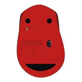 Ratón inalámbrico LOGITECH M330 SILENT 2.4GHz Rojo