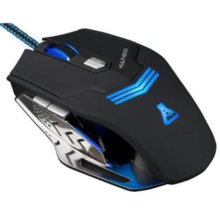 Ratón óptico Bluestork KULT500 USB Negro Plata