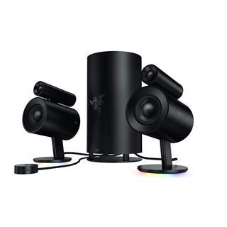 Razer Nommo Pro Altavoces gaming sonido envolvente Dolby virtual