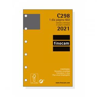 RECAMBIO ANUALIDAD C298 AGENDA CLASSIC 602 1 DÍA ...