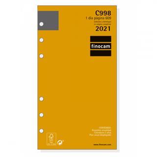 RECAMBIO ANUALIDAD C998 AGENDA CLASSIC 609 1 DÍA ...