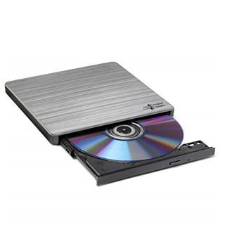 Regrabadora externa LG ultra slim DVD plata