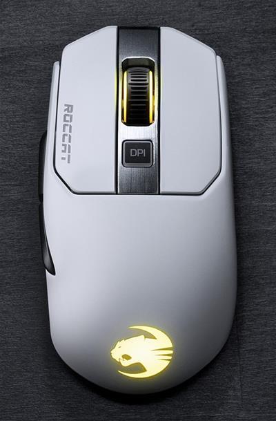 Roccat Kain 202 AIMO white RGB wireless Gaming ...