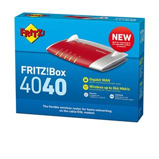 Avm router fritzbox 4040 wifi ac 1300