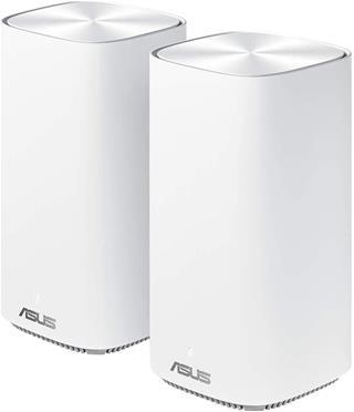Router Kit Asus ZenWiFi AC Mini CD6 (W-2-PK) WLAN-AC1500 AIMESH 5 GHz Mimo