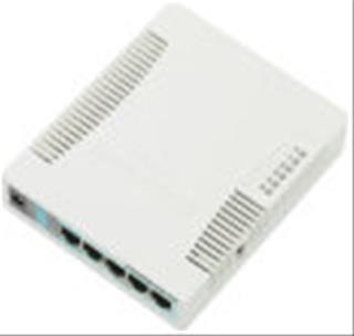 ROUTER MIKROTIK RB 5 PORT GIGA L4