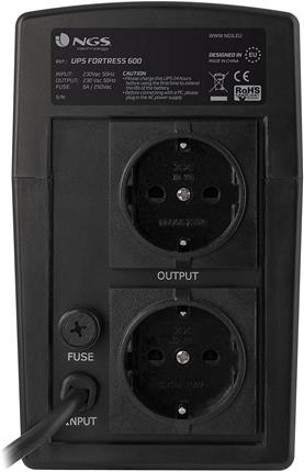 SAI NGS Fortress600 V2 Off Line 600VA 270W AVR