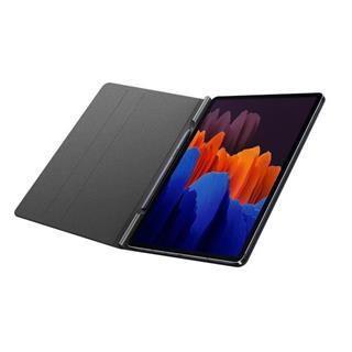 Funda Samsung Book Cover Tab S7+ gris