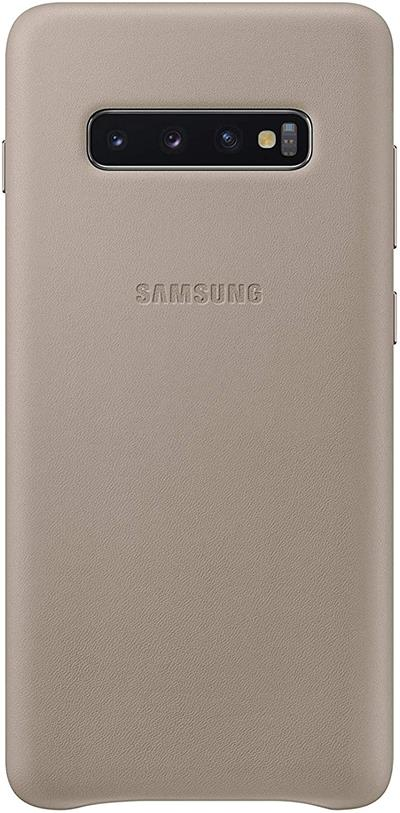 Samsung Ef-Vg975ljegww Leather Cover S10plus  Gray