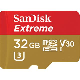 Sandisk Extreme microSDHC 32GB+SD Ad Sports Cam