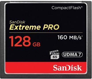 Sandisk Extreme Pro CF 160MB/s 128 GB