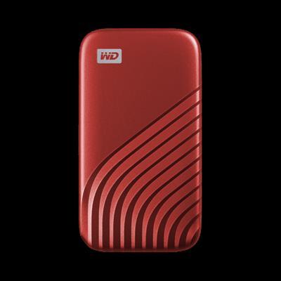 Sandisk My Passport SSD 2TB Red