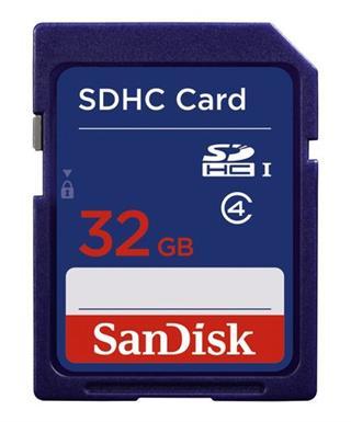 Sandisk SDHC 32GB Card RTL EU