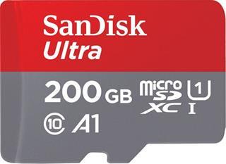 Sandisk Ultra Android microSDXC 200GB+SDAdap