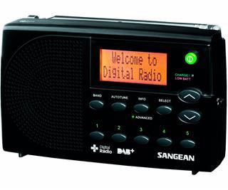 SANGEAN DPR-65 NEGRO RADIO DIGITAL PORTÁTIL FM CON RDS Y DAB+ PA