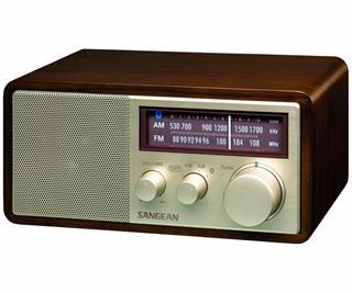 SANGEAN WR-11 BT NUEZ RADIO ANALÓGICA SOBREMESA AM FM BLUETOOTH